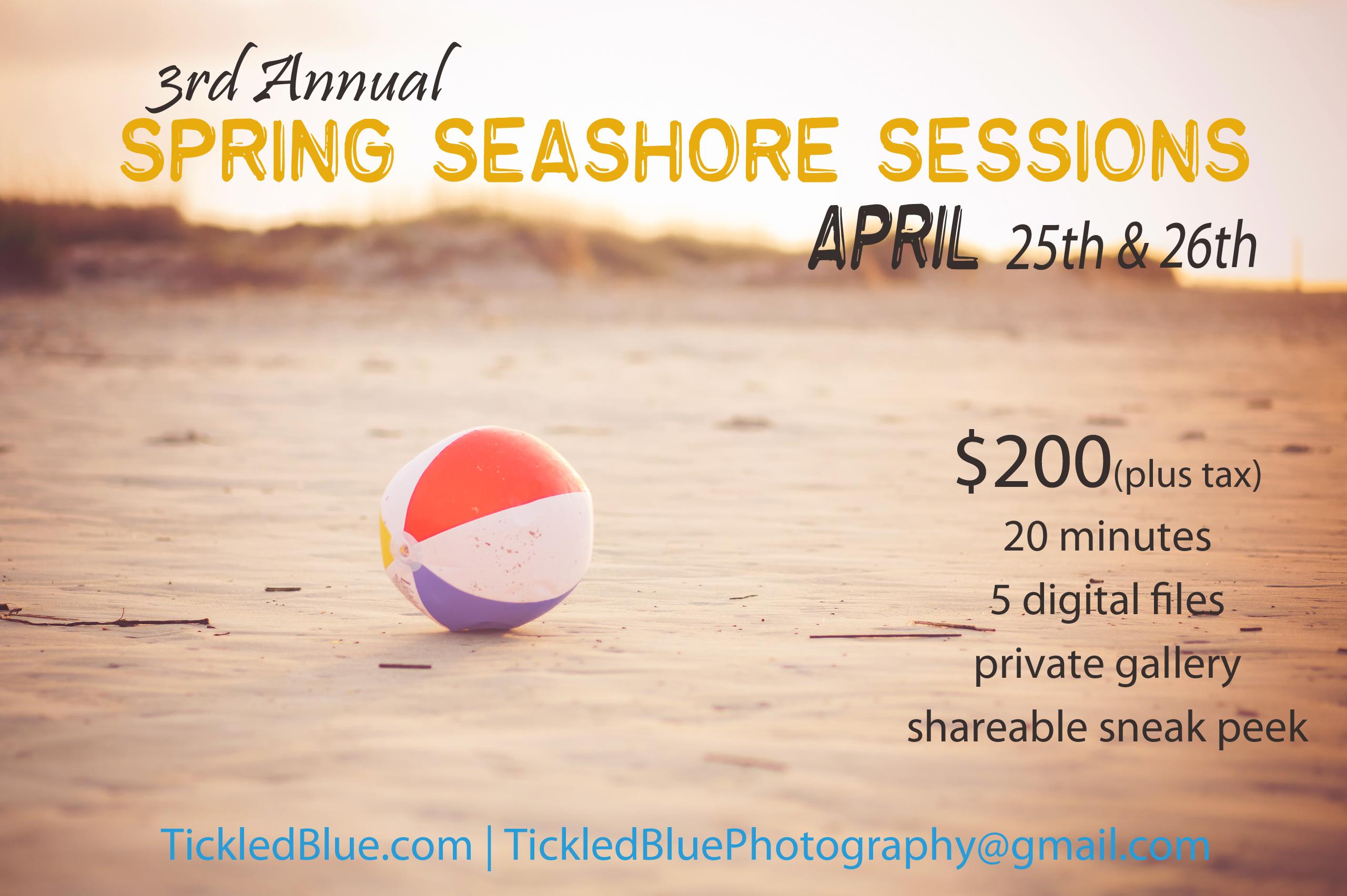 spring seashore